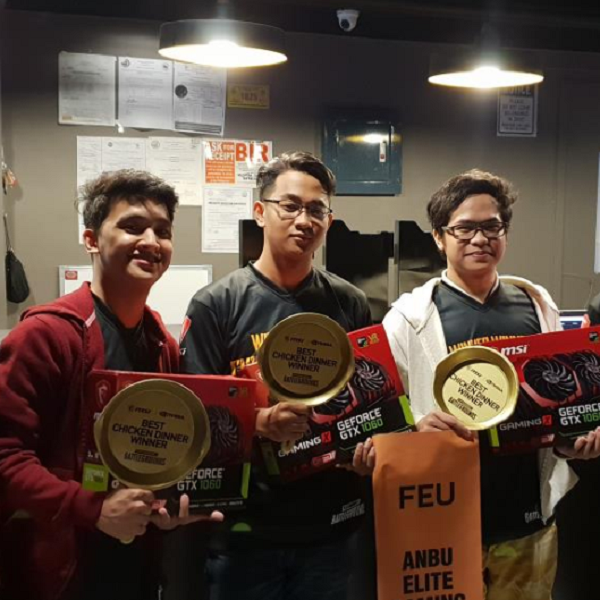 FEU is champ of 1st inter-college PUBG tourney in PH