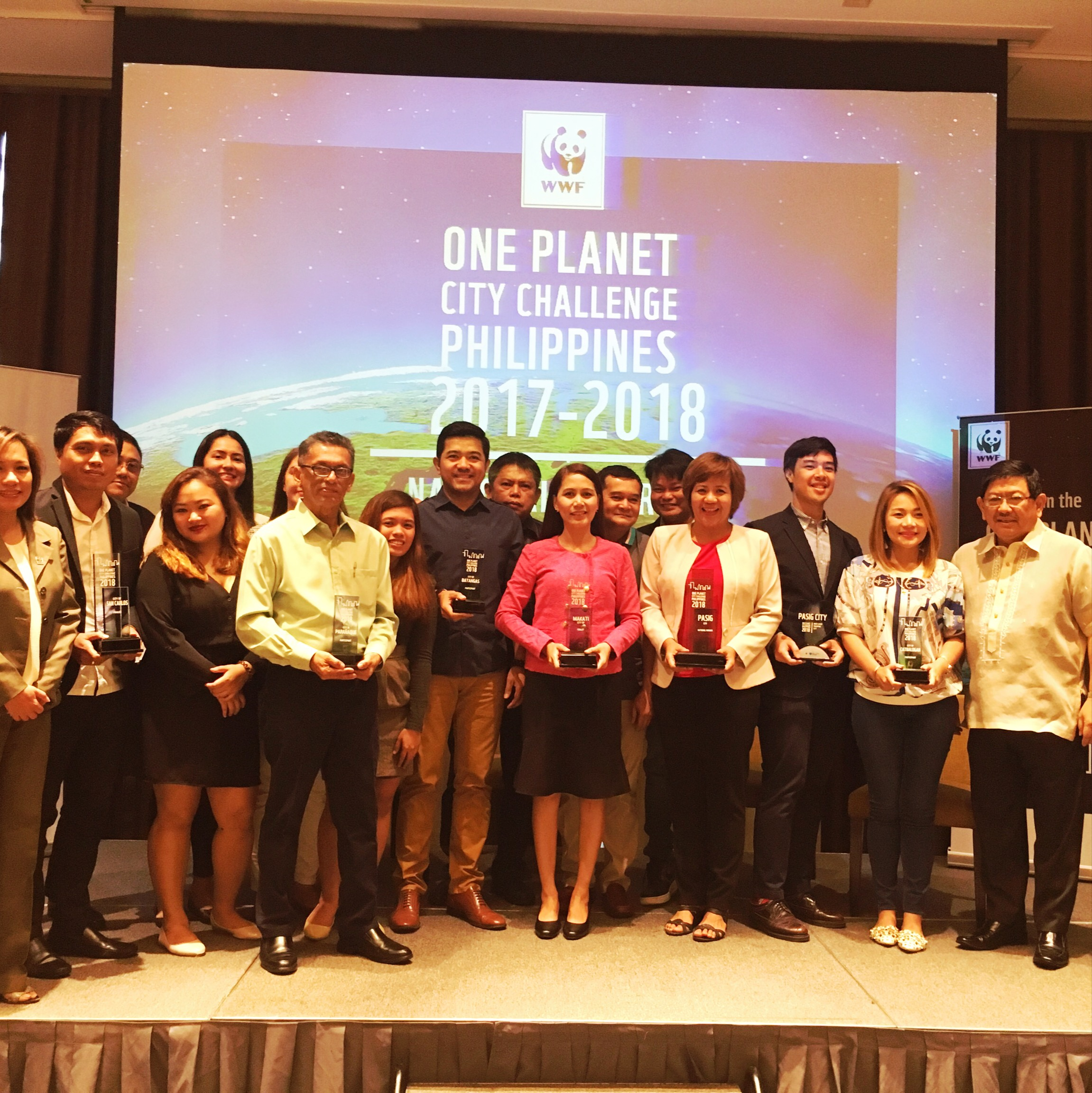 Pasig hailed as WWF's OPCC national winner