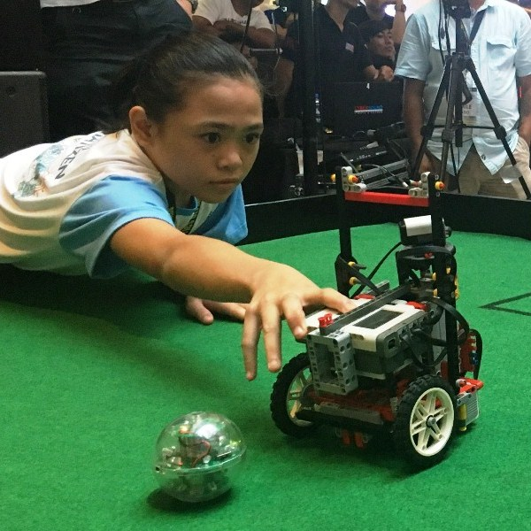 Robotics tilt champs all set to compete on world stage