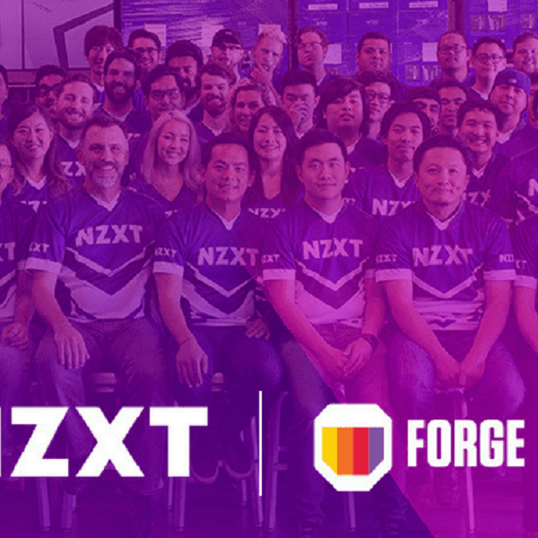 NZXT announces acquisition of software firm Forge