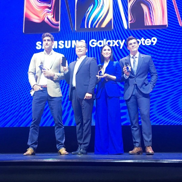 Samsung officially unveils Galaxy Note9 in PH