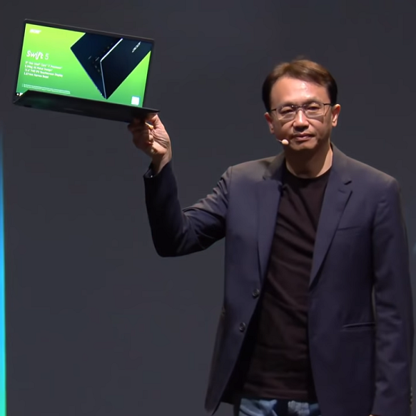 Acer Swift 5, world's lightest 15-inch laptop, unveils at IFA