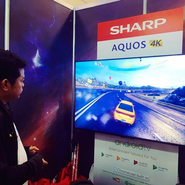 Sharp is major sponsor of LED televisions at ESGS 2018