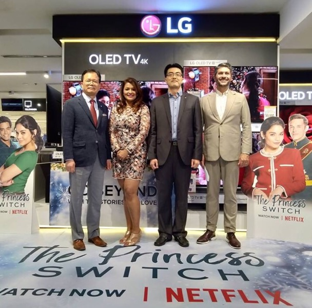 LG, Netflix stage B8 OLED TV roadshow in PH