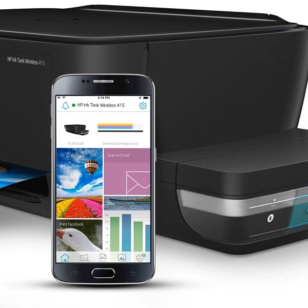 Print from mobile devices with HP ePrint and Smart app