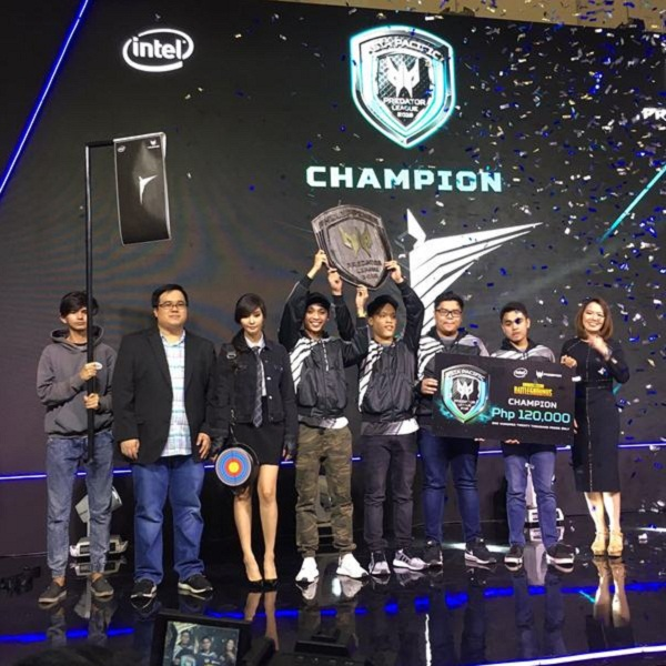 Predator intros champ, new gaming chair at PUBG finals