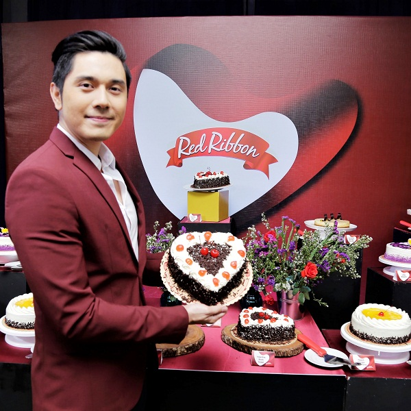 Celebrate love with the Red Ribbon Valentine Black Forest