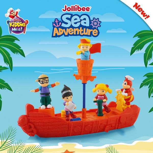 Jollibee's all aboard for a sea adventure this February!