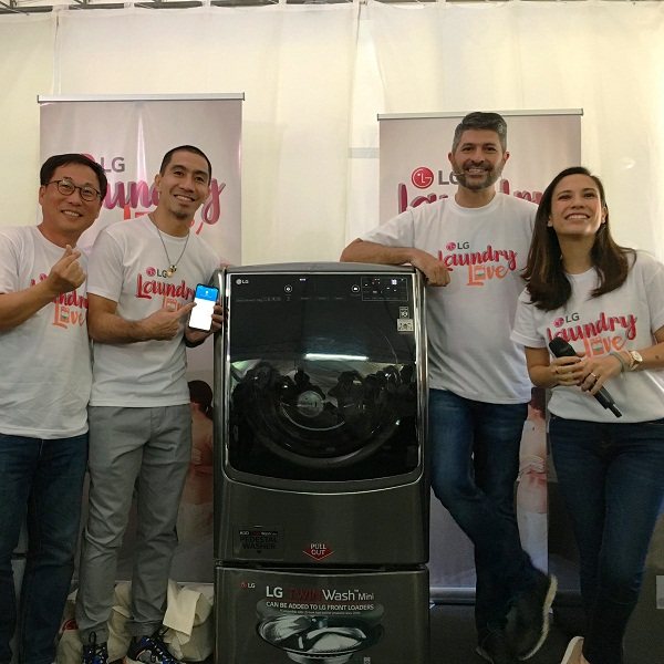 LG breaks the norm with new innovative washing machines