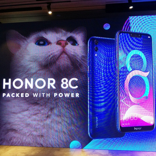 Cat is out of the bag: Honor 8C hits stores for PhP 7,990