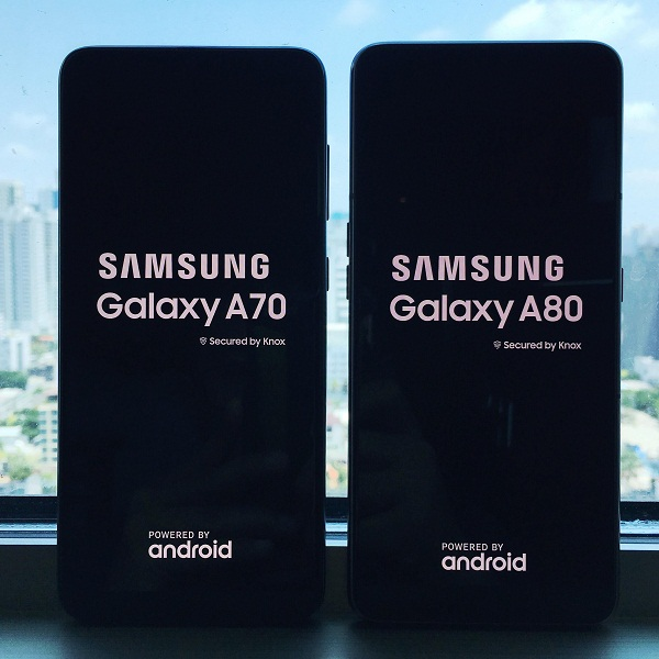 Samsung ushers in the Era of Live with Galaxy A80 and A70
