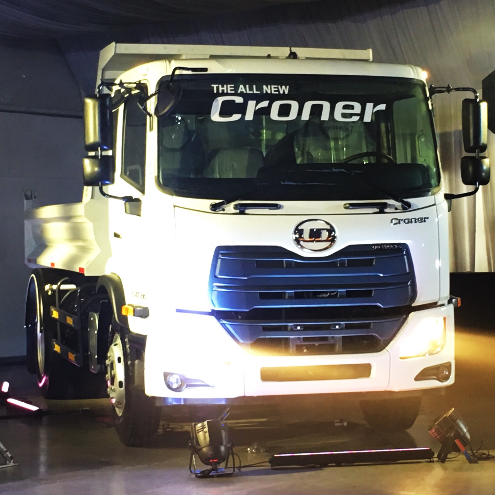 All-new UD Croner medium-duty truck launches in PH