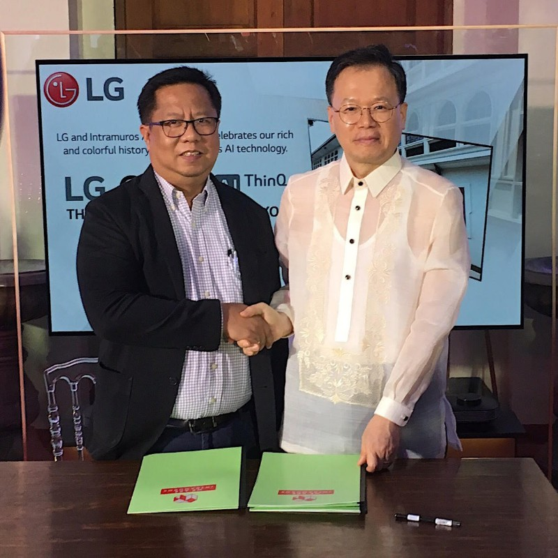 LG honors history through technology at Museo de Intramuros