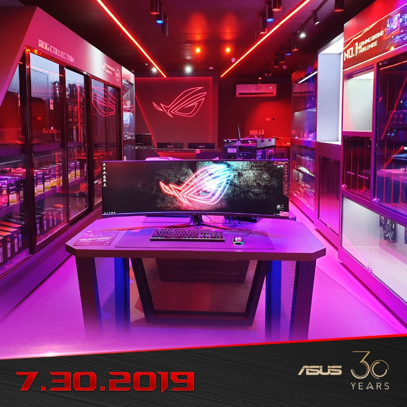 ASUS hypes up ROG store opening at Gilmore with new promo