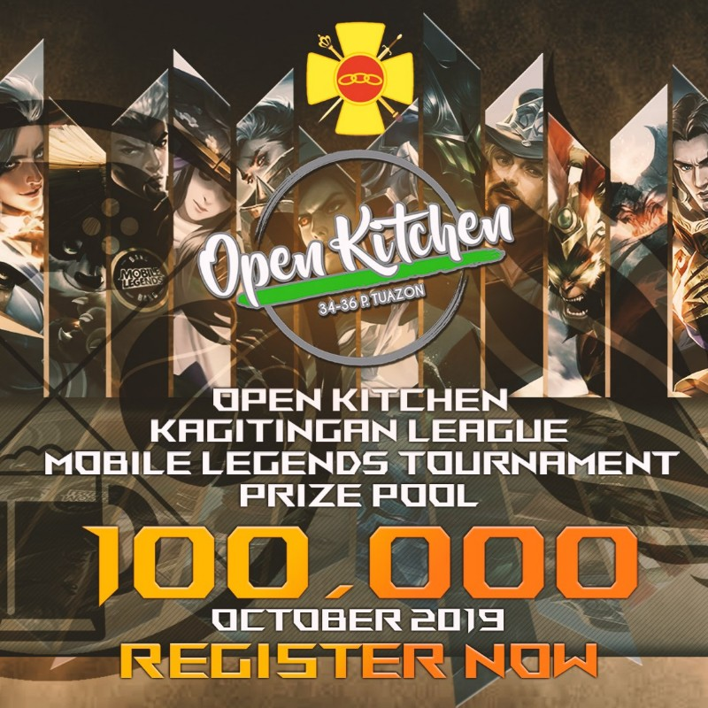 P100K prize pool up for grabs at Open Kitchen ML tournament!