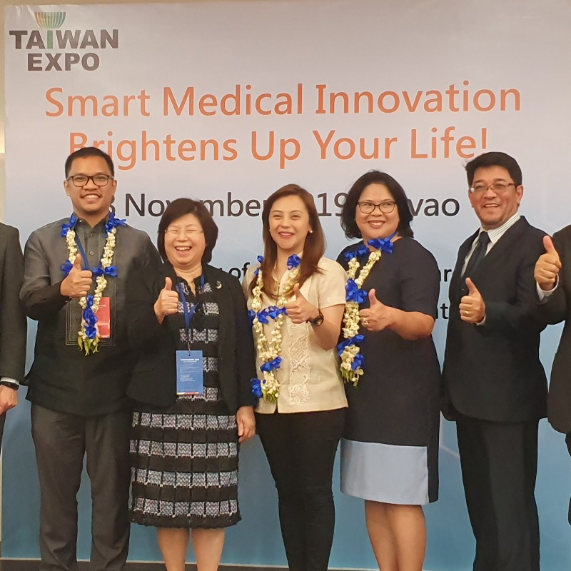 Davao City learns latest medtech innovations at Taiwan seminar