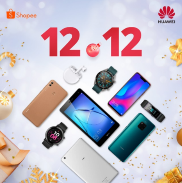 Huawei slashes phone, smartwatch prices on Shopee, Lazada 12.12 sale