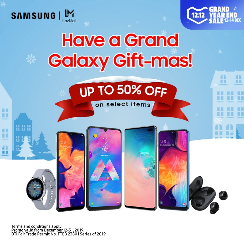 Samsung phones get up to 50% discount on Lazada 12.12 Year End Sale