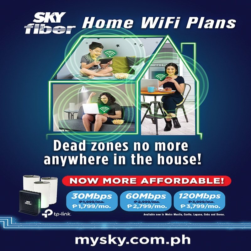 SKY FIBER MAKES SEAMLESS HOME WIFI EXPERIENCE MORE AFFORDABLE