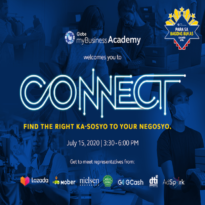 CONNECT with investors, enablers, suppliers, and potential customers with Globe myBusiness Academy