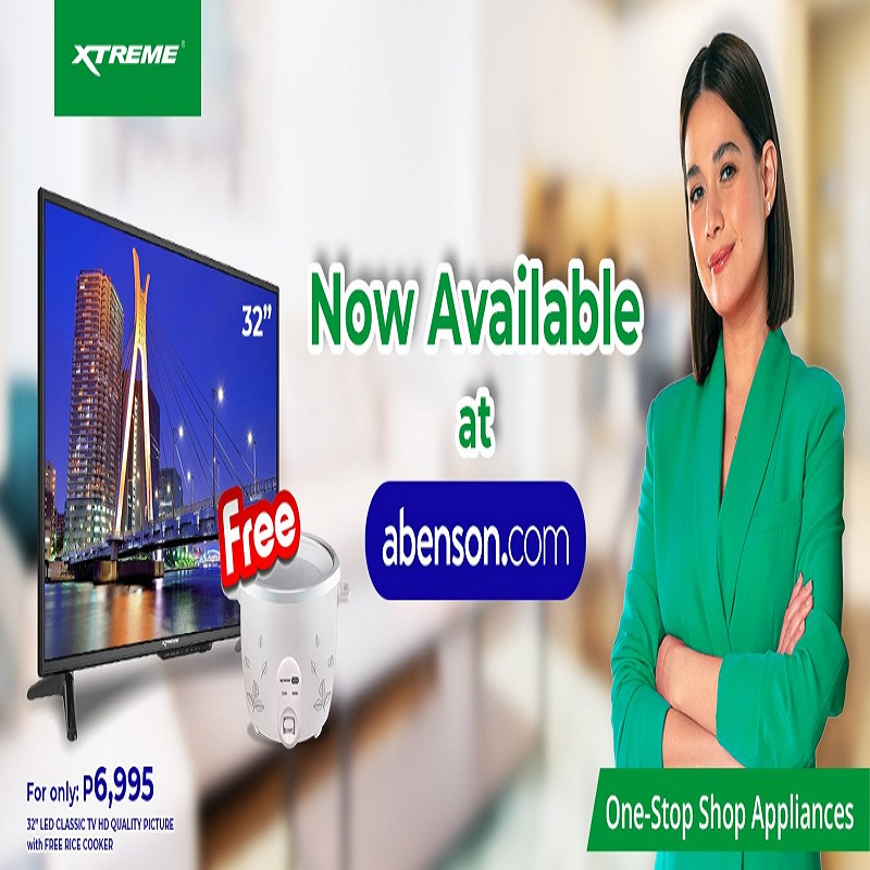 SHOP XTREME APPLIANCES ON ABENSON ONLINE STARTING JULY 29