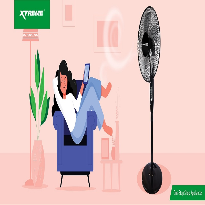 "Get soundproof sleep with XTREME ""The Silencer"" Fan"