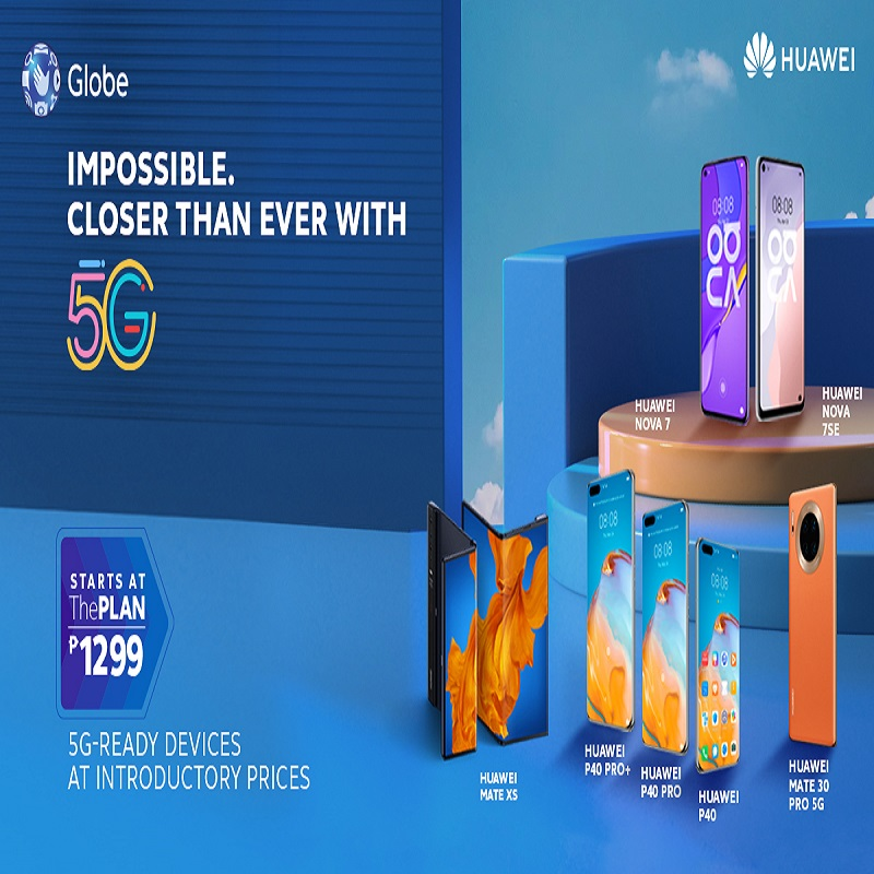 Discover how Huawei and Globe Empower Filipino Lifestyles with 5G-Ready Technology